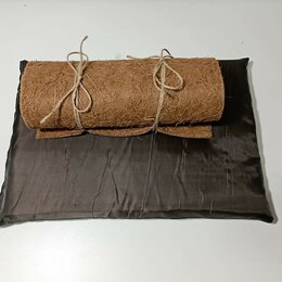 Прочие товары для животных - Комплект Маты синтепоновый и кокосовый для улиток Ахатина, 0