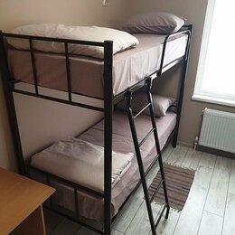 Кровати - Кровати двухъярусные, односпальные на металлокаркасе Новые, 0