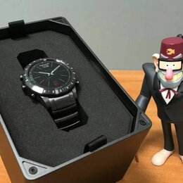 Умные часы и браслеты - Часы Garmin MARQ Driver Титановый браслет , 0
