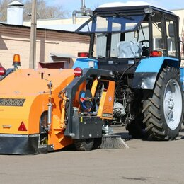 Уборочные и моющие машины - Тракторная подметально-уборочная машина ТКМ-2000, 0