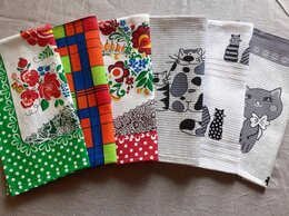 Полотенца - Кухонные полотенца 6 шт, 0
