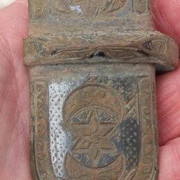 Военные вещи - устье от кавказского кинжала,царская Россия,18 век, 0