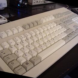 Клавиатуры - Клавиатуры, белые ps/2. Цена за одну штуку. Есть около 30 штук., 0