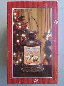 Ночники и декоративные светильники - Ночник музыкальный Новогодний снег, 0