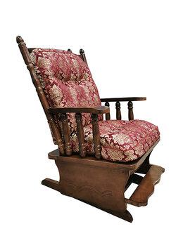 Кресла - Кресло-качалка «Версаль 1» с подставкой для ног…, 0