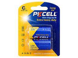 Батарейки - Солевой элемент питания PKCELL R14P-2B тип - C(R14, 0