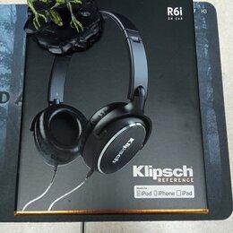 Наушники и Bluetooth-гарнитуры - Наушники Klipsch Reference R6i On-Ear, 0