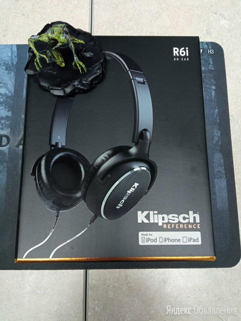 Наушники Klipsch Reference R6i On-Ear по цене 6999₽ - Наушники и Bluetooth-гарнитуры, фото 0