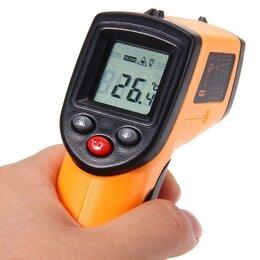 Измерительные инструменты и приборы - Пирометр инфракрасный лазерный, 0