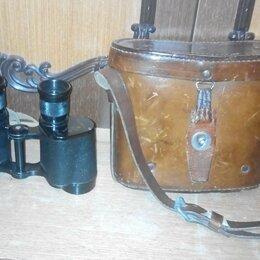 Военные вещи - Редкий довоенный полевой бинокль 1940 г., 0