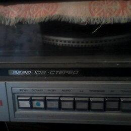 Проигрыватели виниловых дисков - Проигрователи Вега 109, Радиотехника 001, 0