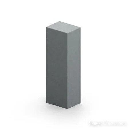 Кирпич силикатный лицевой одинарный евро полнотелый М 150 250х87х65 серый по цене 16₽ - Кирпич, фото 0