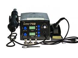 Электрические паяльники - Станция паяльная Lukey-702 цифровая, 0