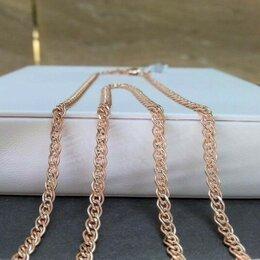 Цепи - Золотая цепочка • Нонна длина 60 см, проба 585, 0
