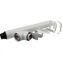 Дымоходы - Дымоход коаксиальный Stout DN60/100 L850 мм, совместим с Baxi, 0