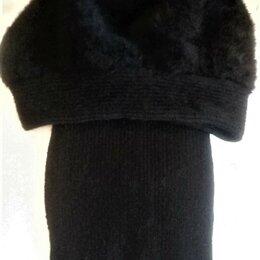 """Головные уборы - Берет из ангоры на """"ножке""""+шарф, комплект новый, 0"""