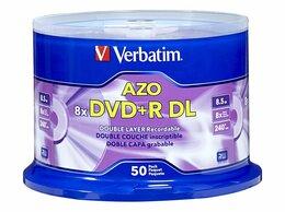 Диски - Verbatim DVD+ R DL 8.5 Гб пр-во ОАЭ, 0