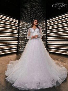 Платья - Блестящее свадебное платье с модными объемными…, 0