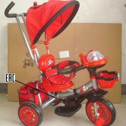 Спортивная защита - Детский трехколесный велосипед КОСМОС LMP-001, 0