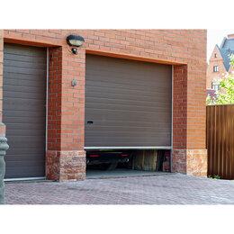 Заборы, ворота и элементы - Секционные ворота утепленные, 0