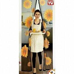 Сетки и решетки - Москитная сетка с подсолнухами - Magic Mesh Sunflower, 18 магнитов, 0