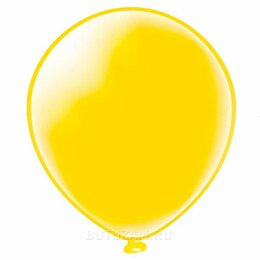 """Украшения и бутафория - Воздушный шарик 12""""/30см Пастель Желтый 1 шт, 0"""