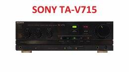 Усилители и ресиверы - Усилитель SONY TA-V715 в хорошем состоянии , 0