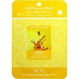 Маски - Маска тканевая золото Gold Mijin Essense Mask, 0