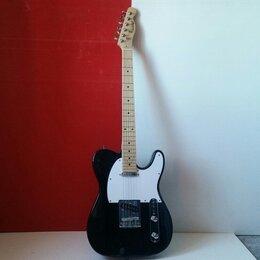 Электрогитары и бас-гитары - Электрогитара телекастер Homage HEG350 BK, 0