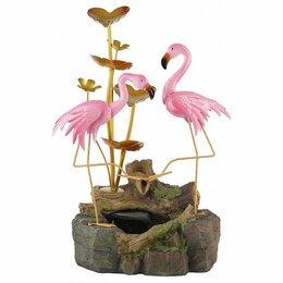 Декоративные фонтаны - Уличный фонтан Фламинго green apple, 0