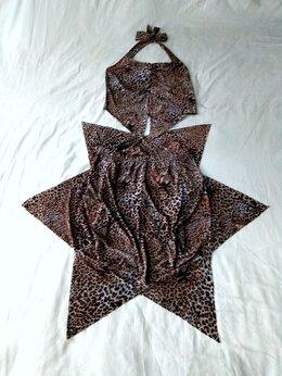Костюмы - Лёгкий летний костюмчик(топ/юбка)новый, 0