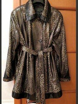 Куртки - Куртка кожаная женская 54-56 размера, 0