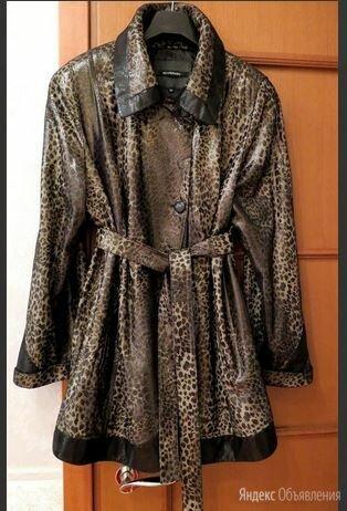 Куртка кожаная женская 54-56 размера по цене 6000₽ - Куртки, фото 0