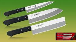 Наборы ножей - Fuji Cutlery TJ-Giftset-B, набор из 3-х ножей, 0