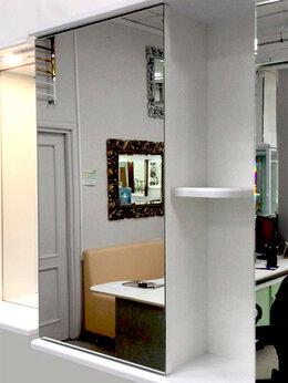 Шкафы, стенки, гарнитуры - Шкафчик с зеркалом в ванную Emmy Верона 50, 0