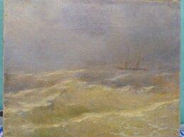 Картины, постеры, гобелены, панно - картина Кораблик по морю гуляет, холст, масло,…, 0