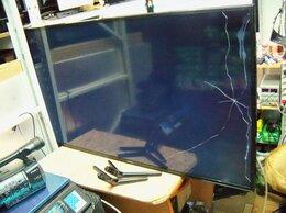 Запчасти к аудио- и видеотехнике - №213`Samsung UE48JU6000U, матрица повреждена,на…, 0