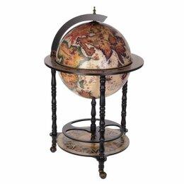 Винные шкафы - Глобус-бар, L58.5 W58.5 H93.5 см 266321, 0