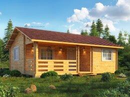 Готовые строения - Садовый домик из мини-бруса 8х6 «Норвежский» , 0