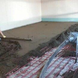 Архитектура, строительство и ремонт - Механизированная стяжка пола пескобетоном, 0