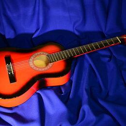 Акустические и классические гитары - Гитара снейлоновыми струнами, 0