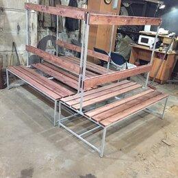 Скамейки - скамейка для раздевалки двойная, 0