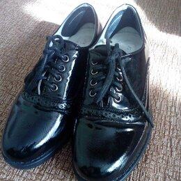 Туфли и мокасины - Туфли на девочку 33р, 0