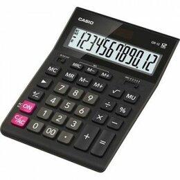 Калькуляторы - Калькулятор Casio GR-12 бух.12 разрядный большой…, 0