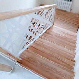 Лестницы и элементы лестниц - Лестница на второй этаж (металлокаркас), 0