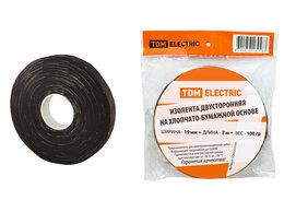 Изоляционные материалы - Изолента ХБ 19мм*7м двусторонняя (100 г), TDM, 0
