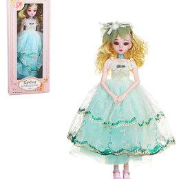 Куклы и пупсы - Кукла коллекционная шарнирная, 60см, пластик, полиэстер, 3 дизайна, 0
