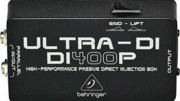 Оборудование для звукозаписывающих студий - Behringer DI400P пассивный DI-box, 0