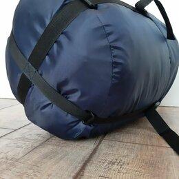 Спальные мешки - Спальный мешок МЧС кокон синий новый, 0