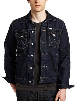 Куртки - Новая джинсовая куртка Wrangler blue bell made…, 0